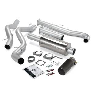 Banks Power Monster Exhaust System w/Black Tip | 2001-2004 Chevy/GMC Duramax LB7 6.6L (EC/CCSB) | Dale's Super Store