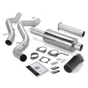 Banks Power Monster Exhaust System w/Black Tip | 2002-2005 Chevy/GMC Duramax LB7/LLY 6.6L (EC/CCSB) | Dale's Super Store