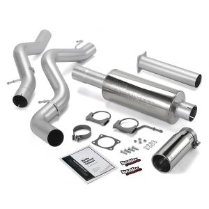 Banks Power Monster Exhaust System w/Chrome Tip | 2002-2005 Chevy/GMC Duramax LB7/LLY 6.6L (EC/CCLB) | Dale's Super Store