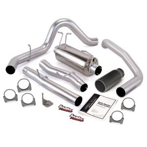 Banks Power Monster Exhaust System w/Black Tip | 2003-2007 Ford Powerstroke 6.0L (CCLB) | Dale's Super Store