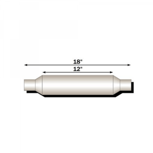 """Flo~Pro Twister Resonator F4 Series Exhaust Muffler 