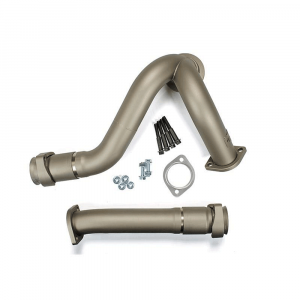 Sinister Diesel Ceramic Coated Y-Pipes | 2003-2007 Ford Powerstroke 6.0L | Dale's Super Store
