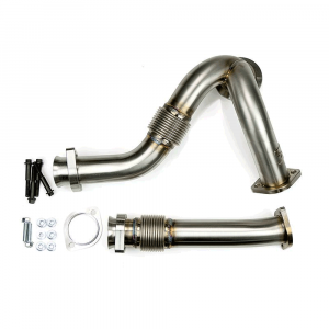 Sinister Diesel Raw Y-Pipes | 2003-2007 Ford Powerstroke 6.0L | Dale's Super Store
