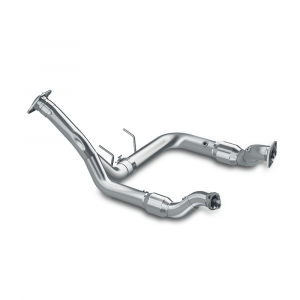 "MBRP 3""  Aluminized Y Pipe w/o Catalytic Converters 