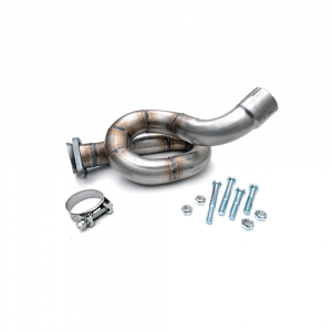 Rough Country Exhaust Loop Relocation Pipe | 2012-2018 Jeep Wrangler JK | Dale's Super Store
