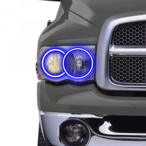 Profile Performance Prism Fitted Halos (RGB) | 2002-2005 Dodge Ram | Dale's Super Store