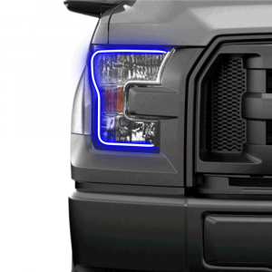 Profile Performance Prism Fitted Halos (RGB)   2015-2017 Ford F-150 w/o OEM LED   Dale's Super Store