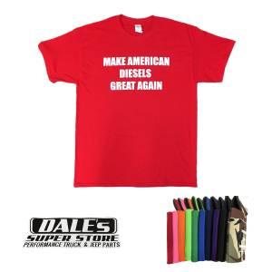 "Dale's ""Make American Diesels Great Again"" Swag Pack (T-Shirt, Stickers, Koozies)"