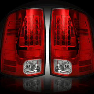 RECON Red LED Tail Lights | 09-14 Dodge Ram 1500 / 10-14 Ram 2500/3500 | Dales Super Store