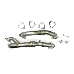Sinister Diesel Up-Pipes w/EGR Provision | 2008-2010 Ford Powerstroke 6.4L | Dale's Super Store