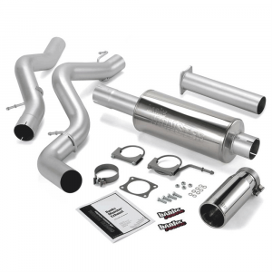 Banks Power Monster Exhaust System w/Chrome Tip | 2006-2007 Chevy/GMC Duramax LBZ 6.6L (ECLB) | Dale's Super Store