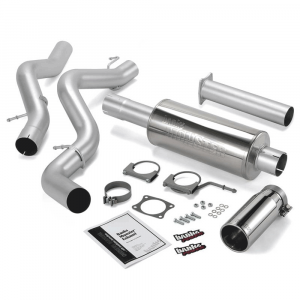 Banks Power Monster Exhaust System w/Chrome Tip | 2006-2007 Chevy/GMC Duramax 6.6L (ECSB) | Dale's Super Store