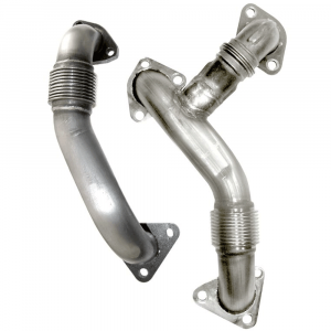 PPE Replacement High Flow Up Pipes (OEM Length) | 2006-2007 Chevy/GMC Duramax?LBZ 6.6L | Dale's Super Store