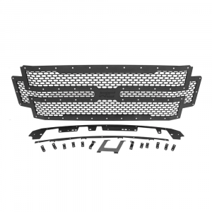 Rough Country Mesh Grille | 2017-2018 Ford Super Duty 2WD/4WD | Dale's Super Store