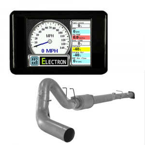 """GearBoxZ Electron Race Tuner & Monitor & 5"""" Downpipe Back w/Muffler 