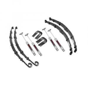 Rough Country 2.5in Suspension Lift Kit | 1976-1986 Jeep CJ 4WD | Dale's Super Store