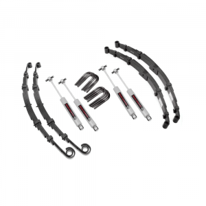 Rough Country 2.5in Suspension Lift Kit | 1969-1975 Jeep CJ 4WD | Dale's Super Store