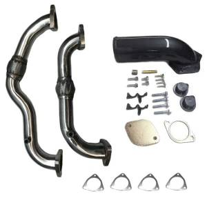 XDR EGR Upgrade Kit w/Up Pipe | 2008-2010 Ford Powerstroke 6.4L | Dale's Super Store
