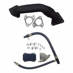 XDR EGR Upgrade Kit w/Passenger Side Up-Pipe | 2011-2015 Chevy/GMC Duramax LML 6.6L | Dale's Super Store