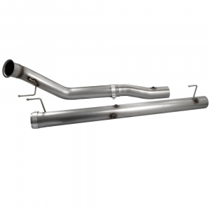 """aFe Power Large Bore-HD 4"""" Stainless Downpipe/Mid-Pipe 