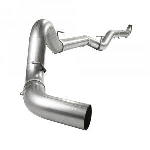"aFe Power Large Bore-HD 5"" Stainless Downpipe Back w/NO Muffler 