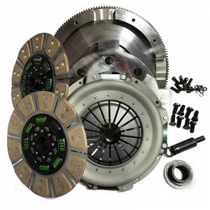 Valair Dual Disc Ceramic Clutch | NMU73ZF5DDS | 1994-1997 Ford 7.3L Powerstroke 5-Speed | Dale's Super Store