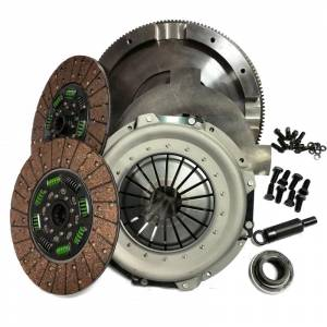 Valair Dual Disc Organic Clutch | NMU73ZF5DDS-ORG  | 1994-1997 Ford 7.3L Powerstroke 5-Speed | Dale's Super Store