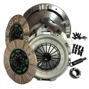 Valair Dual Disc Ceramic Clutch | NMU73ZF6DDS | 1999-2003 Ford 7.3L Powerstroke 6-Speed | Dale's Super Store
