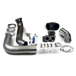 H&S Motorsports  - H&S Motorsports SX-E Single Turbo Kit w/o Turbo   132001-N   2011-2016 GM Duramax 6.6L