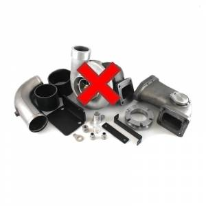 H&S Motorsports  - H&S Motorsports Single Turbo Kit w/o Turbo (Divided cast elbow) | 342004-N | 2008-2010 Ford Powerstroke 6.4L