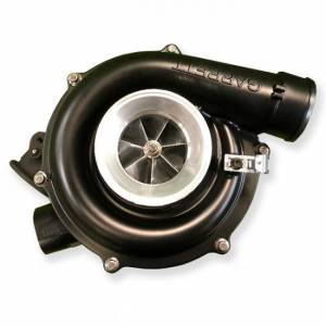 Fleece Performance - Fleece Performance 63MM Street Cheetah Turbocharger | FPE-6.0STREET-0304 | 2003-2004 Ford Powerstroke 6.0L