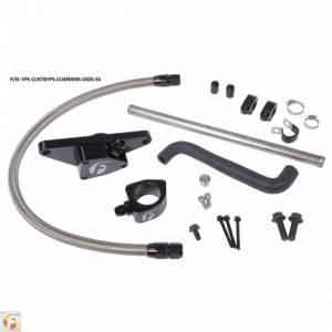 Fleece Performance - Fleece Performance Coolant Bypass Kit | FPE-CLNTBYPS-CUMMINS-0305-SS | 2003-2005 Dodge Cummins 5.9L