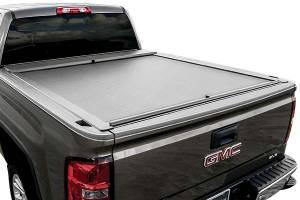 Roll-N-Lock - Roll-N-Lock M-Series Tonneau Bed Cover | ROLLG222M | 2014-2015 Silverado/Sierra 8' Bed