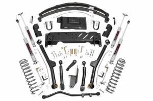 "Rough Country - Rough Country 4.5"" Long Arm Suspension Lift Kit w/ Leaf Springs 