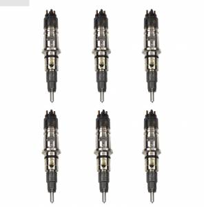 Industrial Injection - Industrial Injection Reman R3 78% Over Injector Set (6) | IND0986435519SE-R3-SET | 2007-2010 Dodge Cummins 6.7L (Cab & Chassis)