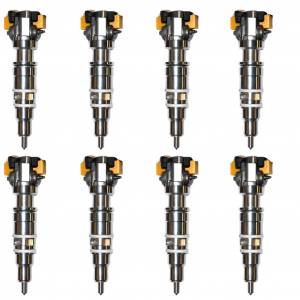 Industrial Injection - Industrial Injection New AB Race 4 Injector Set (8)   INDAP63801ABR4-SET   1998-1999 Ford Powerstroke 7.3L