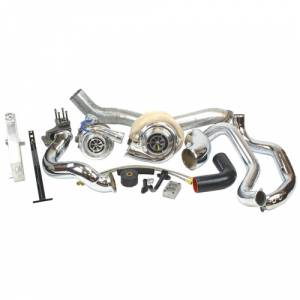 Industrial Injection - Industrial Injection Compound Race Turbo Kit | IND423404 | 2004.5-2005 Chevy/GMC Duramax LLY