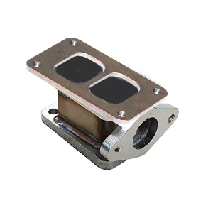 Industrial Injection - Industrial Injection External Wastegate Spacer/Flange | INDEXT4 | Universal Fitment