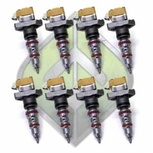 Full Force Diesel Performance - FFD OBS Stage 1.5 Injector Set (8) | ffdOBSST15 | 1994-1997 Ford Powerstroke 7.3L