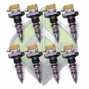 Full Force Diesel Performance - FFD OBS Stage 3 300cc Injector Set (8) | ffdOBSST3300 | 1994-1997 Ford Powerstroke 7.3L