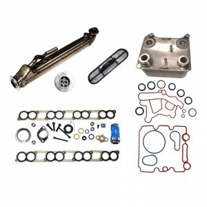 RAE EGR & Oil Cooler Kit | RAEFS00327 | 2004-2010 Ford Powerstroke 6.0L | Dale's Super Store