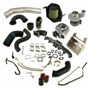 BD Diesel - BD Diesel Cobra Twin Turbo Kit S366SX-E / S486 | BD1045794 | 2003-2007 Dodge Cummins 5.9L