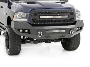 Rough Country Heavy-Duty Front LED Bumper | 2013-2018 Ram 1500 4WD/2WD | Dale's Super Store