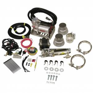 "BD Diesel - BD Diesel Exhaust Brake 5"" w/ Compressor | BD1028150 | Universal Fitment"