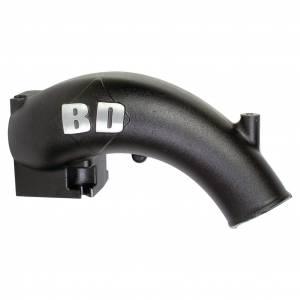 BD Diesel - BD Diesel X-Flow Power Intake Elbow (Black)  | BD1041555 | 2003-2007 Dodge Cummins 5.9L