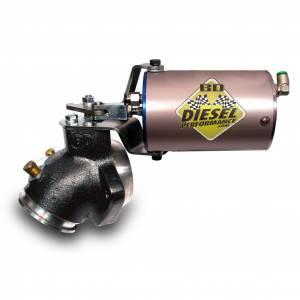 BD Diesel - BD Diesel Air/Turbo Mount Exhaust Brake 60psi Vac/Turbo Mount | BD2033135 | 1989-1998 Dodge Cummins 5.9L