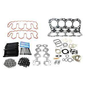 Merchant Automotive - Merchant Automotive Head Gasket Kit w/ ARP Studs & Exhaust Manifold Gaskets | MA10364 | 2007.5-2010 Chevy/GMC Duramax LMM