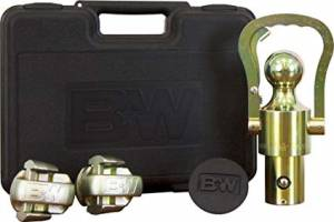 B&W Hitches - B&W Trailer Hitches Ball & Safety Chain Loop Kit | BNWGNXA2061 | GM/Ford/Nissan
