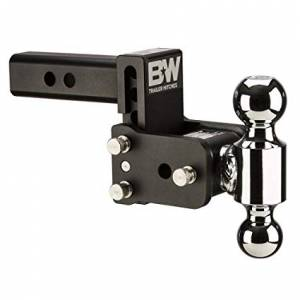 "B&W Hitches - B&W Trailer Hitches Tow & Stow 6""Model 3"" Drop 3.5"" Rise 1 7/8"" & 2"" Balls 