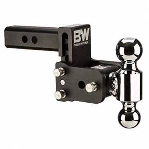 """B&W Hitches - B&W Trailer Hitches Tow & Stow 10""""Model 7"""" Drop 7.5"""" Rise 2"""" & 2 5/16"""" Balls 